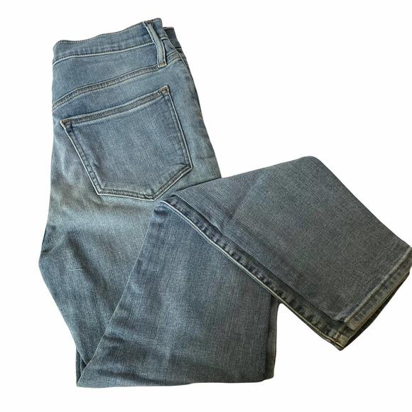 J. Crew Women's High Rise Skinny Denim Jeans Light Wash Size 28 NWT